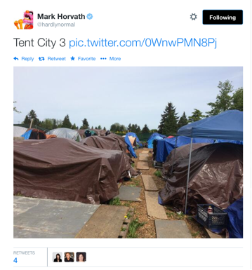 tent city 2 twitter mark horvath