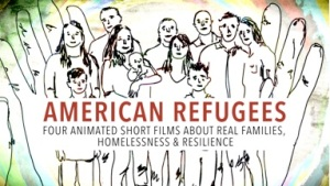 American refugees drawing, animation, short films