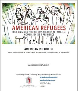 Ameican Refugees discussion guide cover