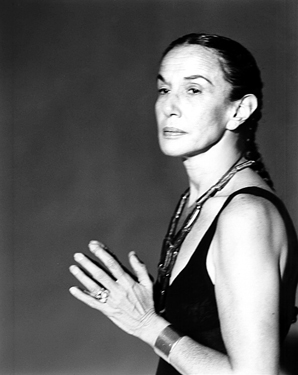 Mary Ellen Mark in 1996. Portrait by Michael O'Brien