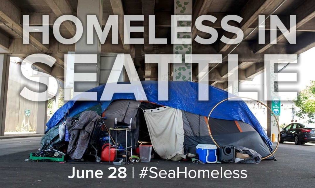 #SeaHomeless banner image