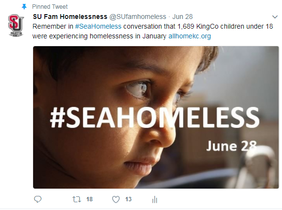 #SeaHomeless family image