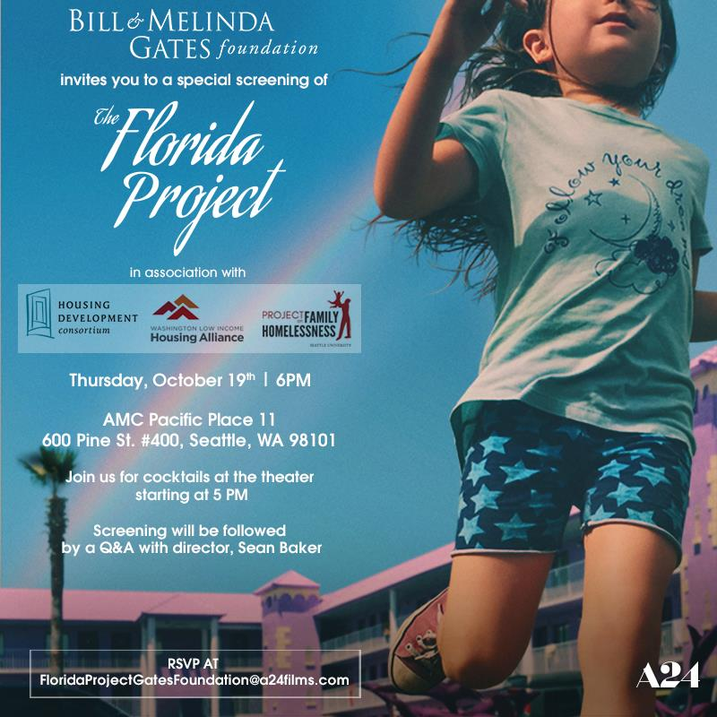 Florida Project invite