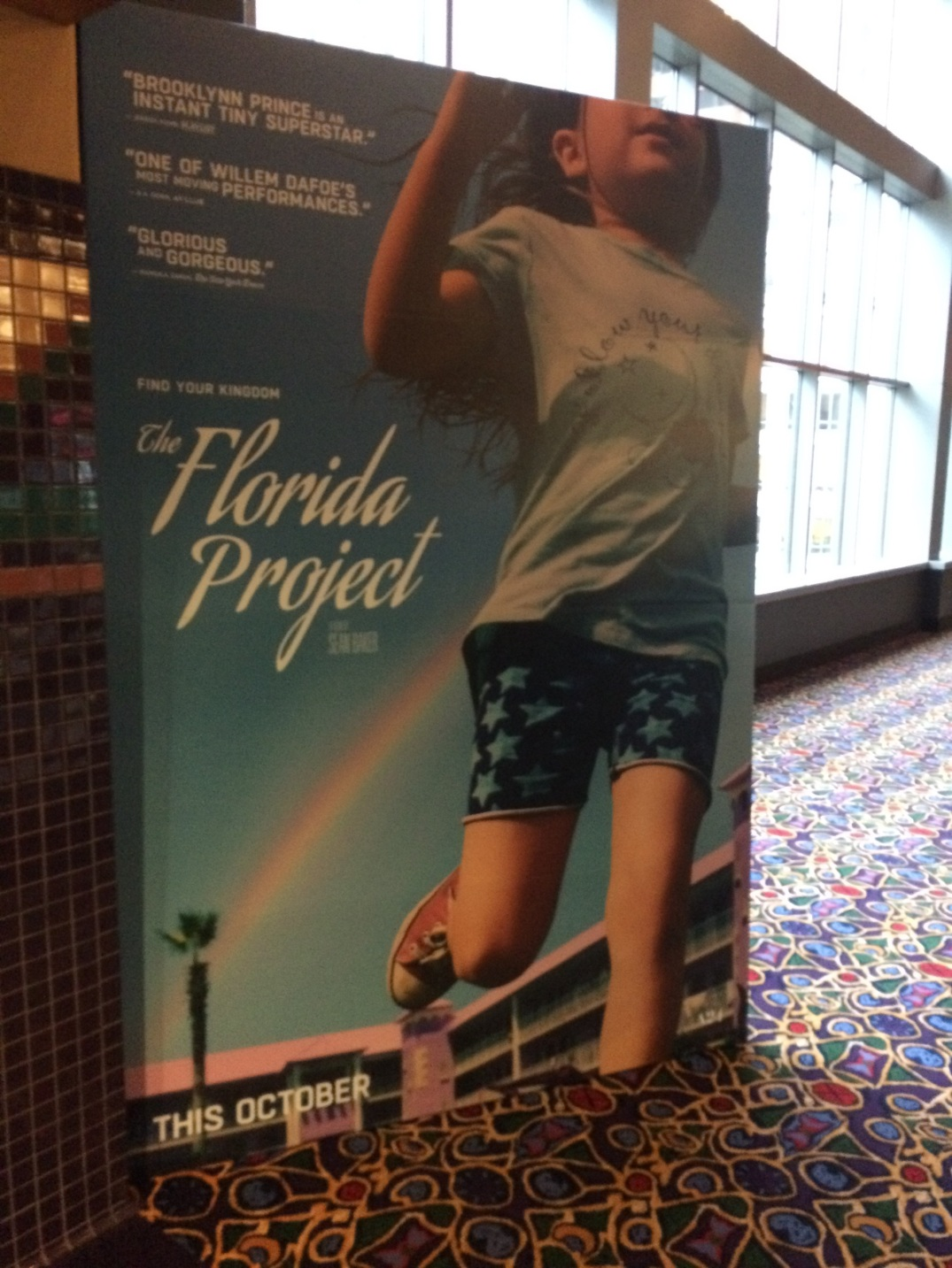 Florida Project Screening-Lobby Poster
