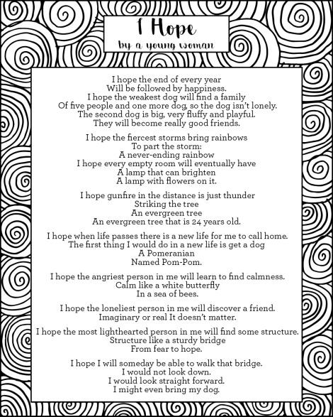 Pongo Poetry Option 2_I Hope