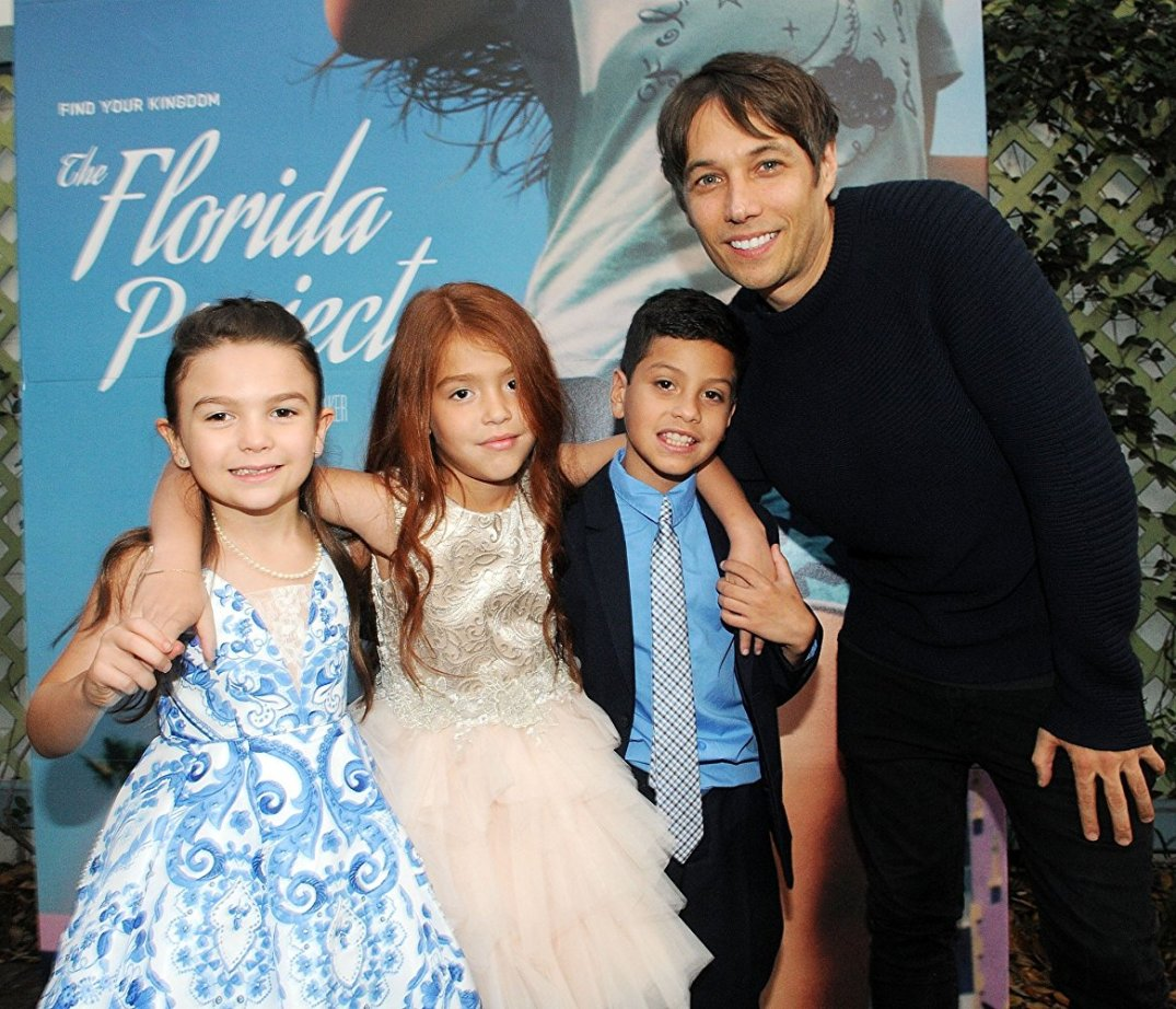 Florida Project_Sean Baker with Kids-imdb
