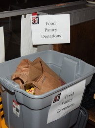 HEH HOF Food Donations