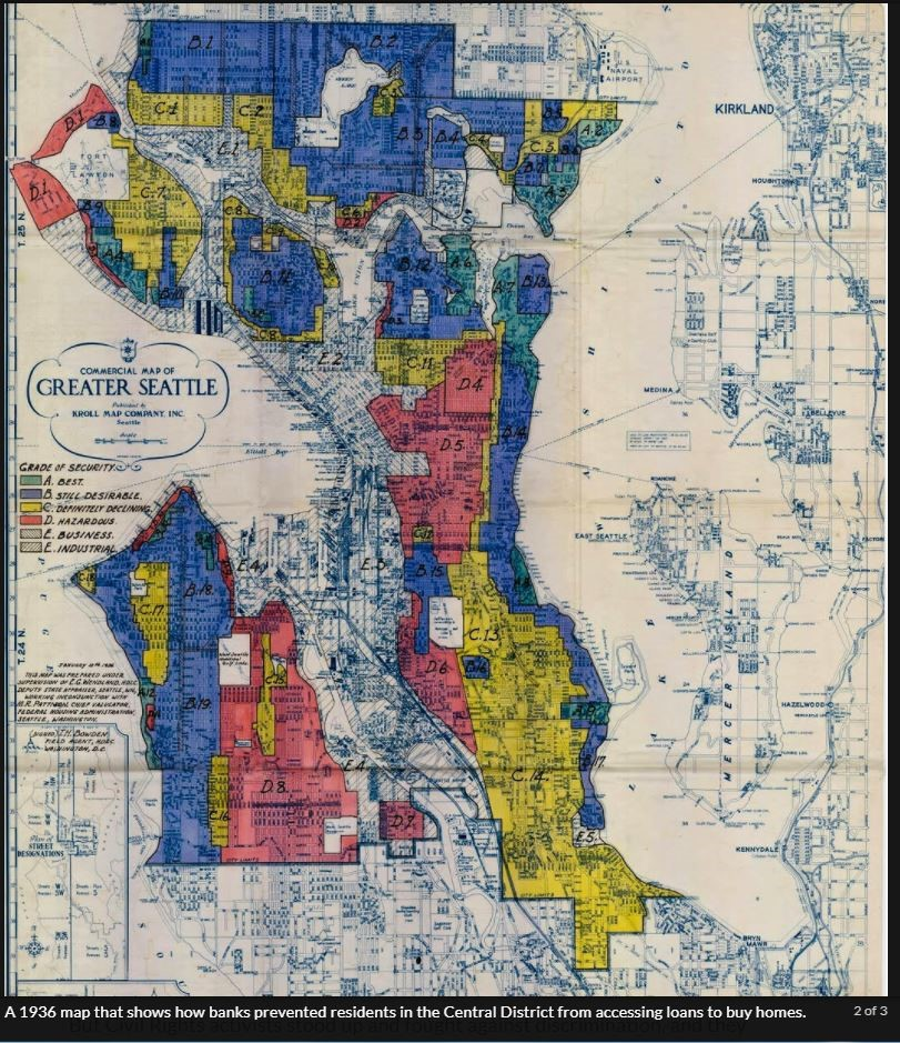 Seattle Redlining Map